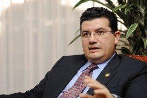 Sergio Alfaro, Ministro de la Presidencia. Foto: Adriana Araya