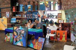 Muestra artesanal del Centro de Formación Juvenil Zurquí.