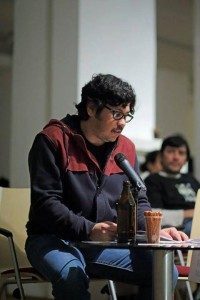 El escritor Luis Chaves vive en Berlín con su familia, como residente de un programa de artistas.
