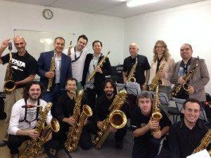 La segunda edición del Congreso ALASAX se realizó en Brasil y contó con la participación de muchos saxofonistas de Latinoamérica. (Foto cortesía de Javier Valerio)