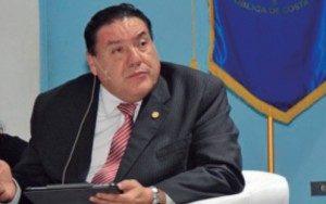 Alexis Castillo, presidente del Colegio de Médicos