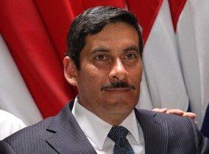 Marco Vinicio Redondo, jefe de fracción del PAC.