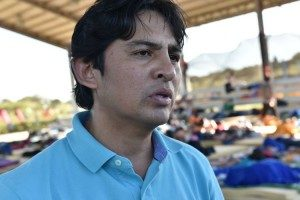 Alonso Allán, vicealcalde de La Cruz, destacó la colaboración de diversas instituciones y fuerzas vivas del cantón
