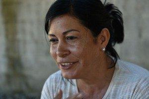 María de los Ángeles García se refirió a las dificultades de vivir en los albergues