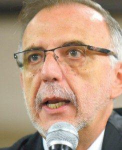 La Cicig fue fundamental en las denuncias por corrupción que desplomaron el gobierno de Otto Pérez Molina. En la foto el comisionado, Iván Velazquez.